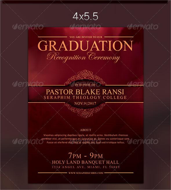 18 Graduation Flyer Templates Sample Templates