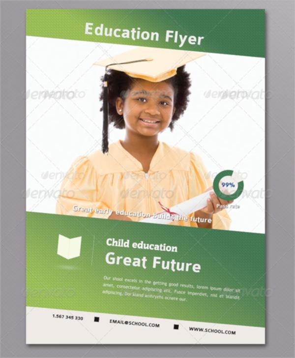 preschool graduation flyer