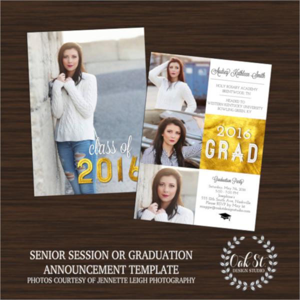 attractive graduation flyer