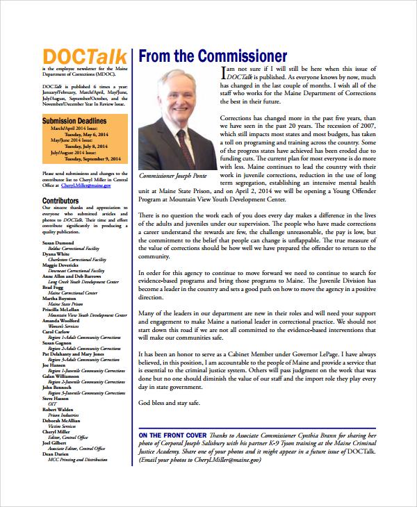 doctalk employee newsletter