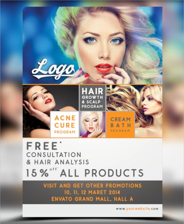 12 Hair Salon Flyer Templates PSDFree EPS Format Download – Discount Flyer Template