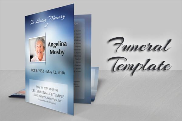 memory bifold brochure