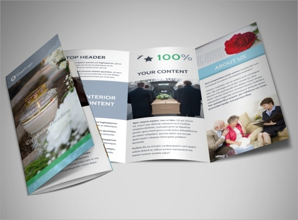 memorial brochure template free
