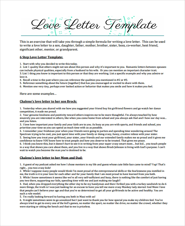 Love letter for her template images template design ideas sample love letter 18 free documents download in word pdf vintage love letter maxwellsz spiritdancerdesigns Images