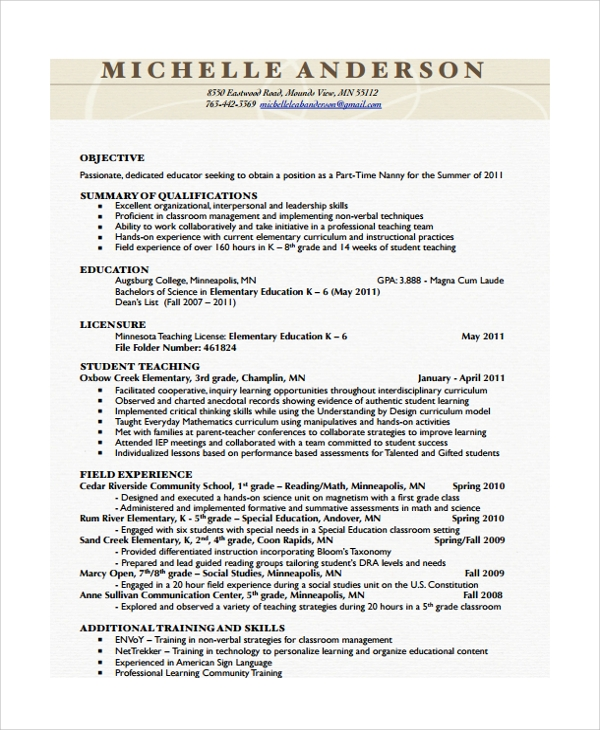 babysitting work experience resume 39 images resume