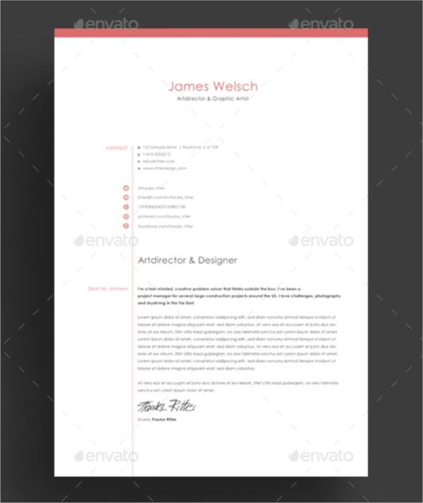 professional resume templates psd