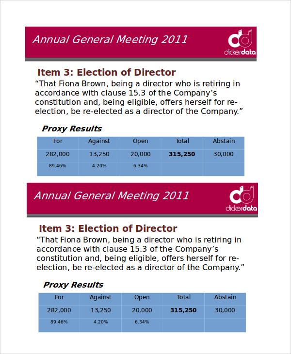 company sales presentation template