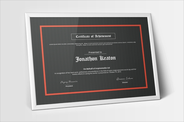 multipurpose certificates psd