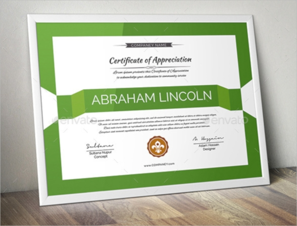 wonderful psd certificate template