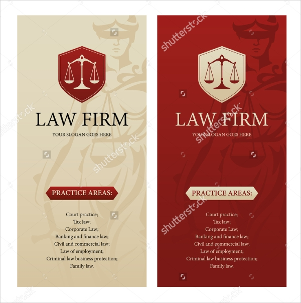 Attractive Law Firm Brochure Template