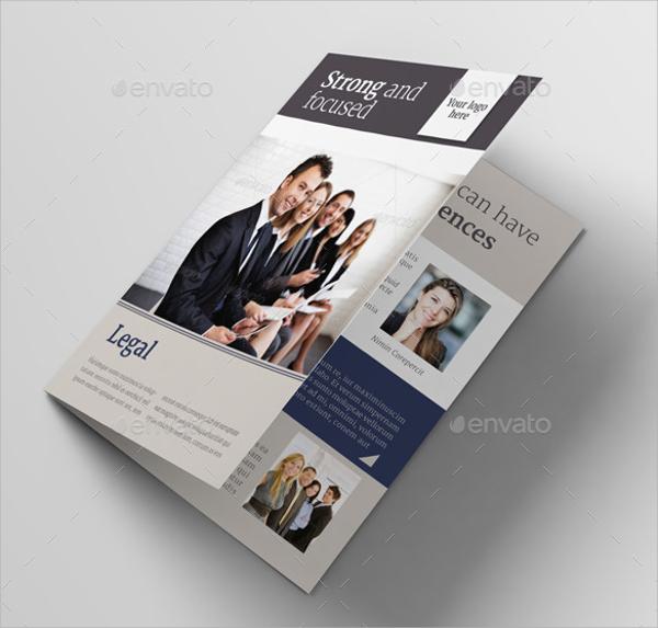 legal bifold brochure