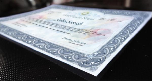 online psd certificate template1