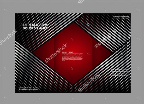 custom folded brochure