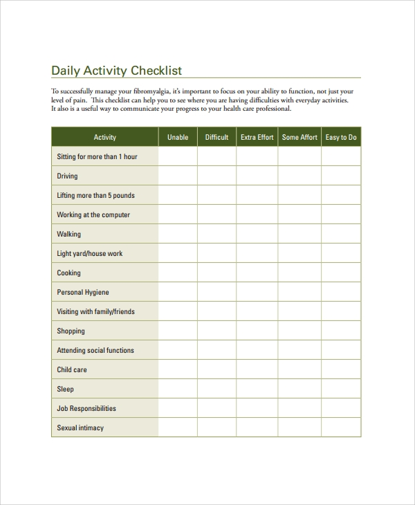 6s daily checklist templates pictures to pin on pinterest