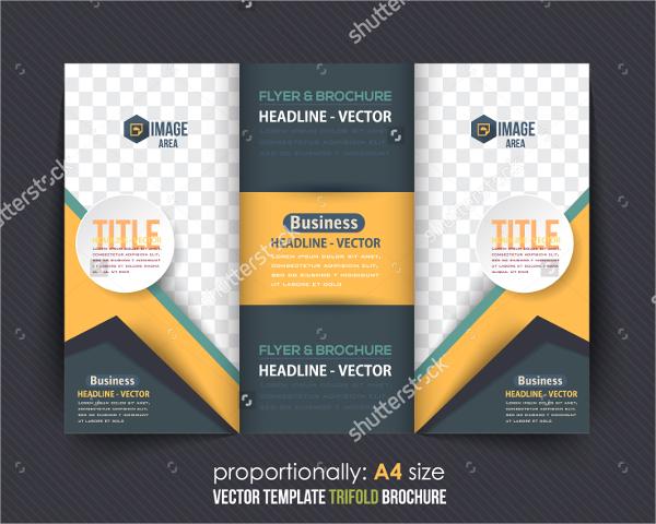 multipurpose folded brochure