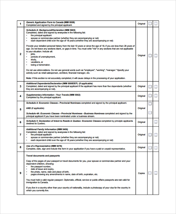 50 checklist templates sample templates for Loan processing checklist template