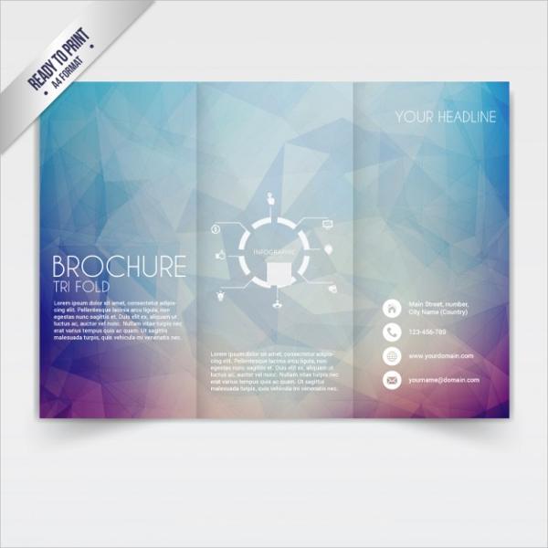 free folded brochure