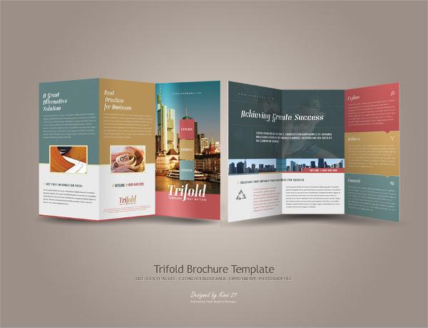 best folded brochure