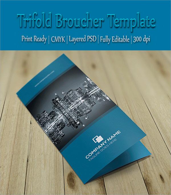 wonderful folded brochure