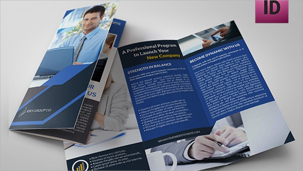 FREE 21+ Folded Brochure Templates in PSD | EPS | MS Word | Apple ...