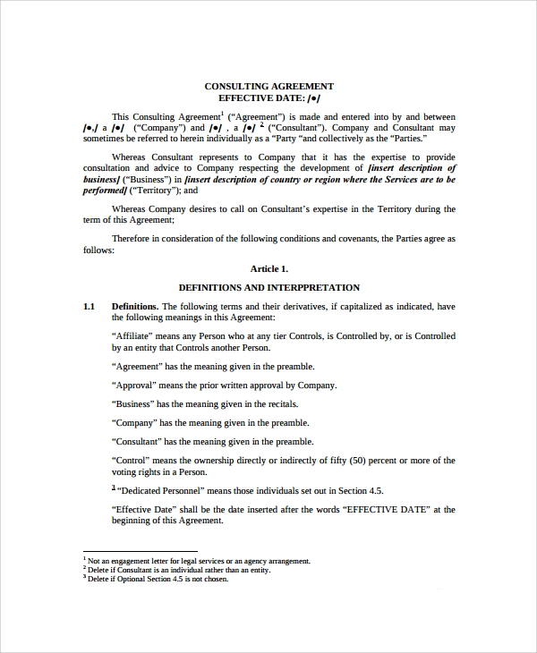 Sample Business Development Agreement Template   Free Documents
