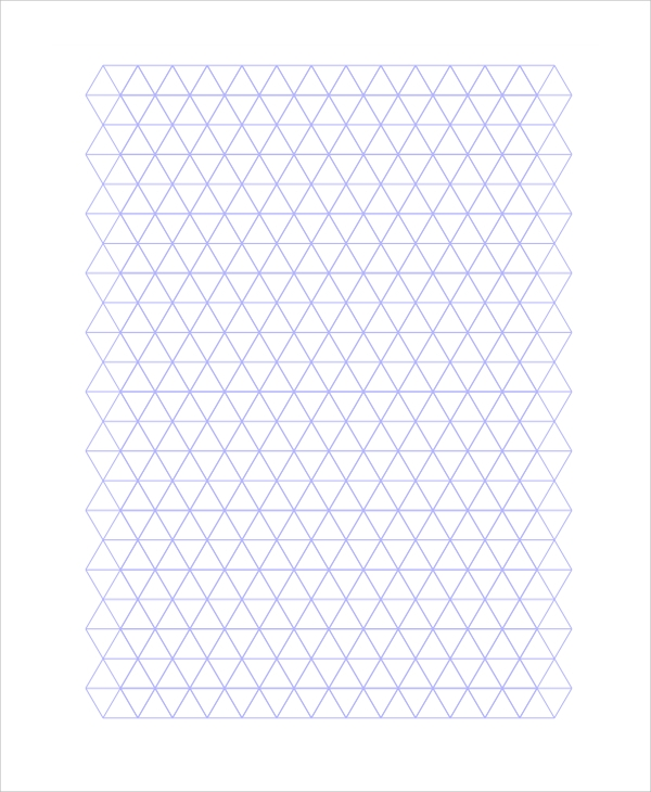 triangular graph paper triangle graph paper printable - Goal.goodwinmetals.co
