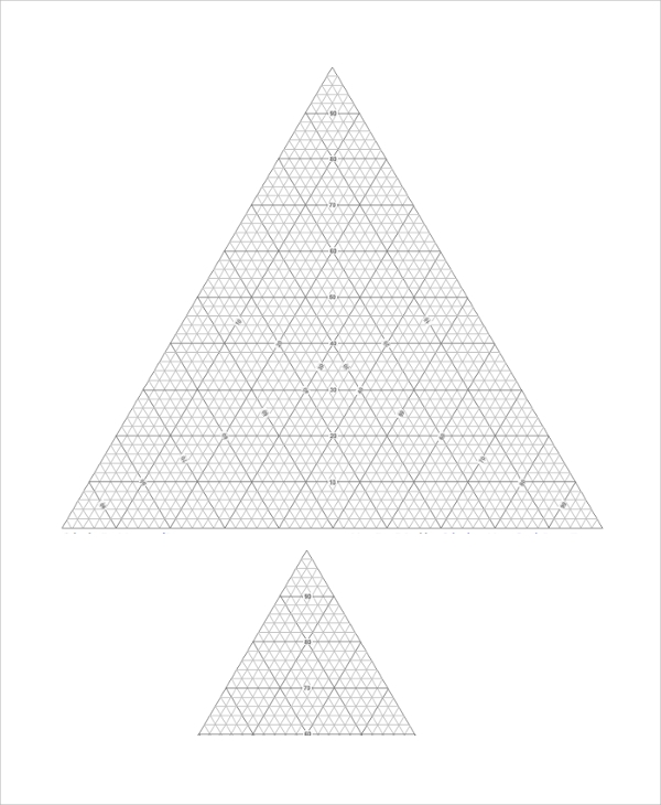 triangular graph paper 10  Triangular Graph Paper Templates | Sample Templates