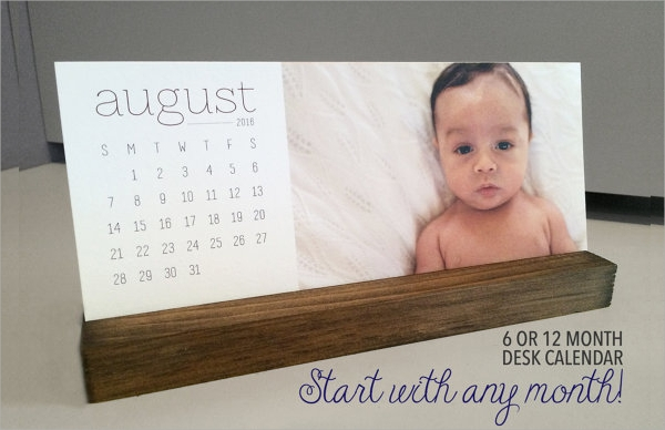 simple photo calendar