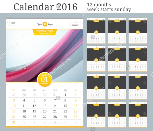 useful photo calendar