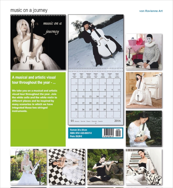 example of photo calendar