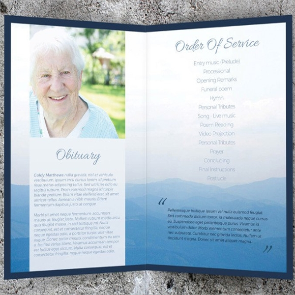 10 Memorial Card Templates Ai Psd Word