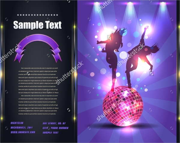 Party Brochure Templates  Psd Eps