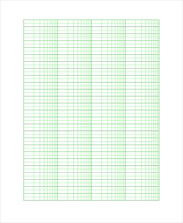 Sample Graph Paper 25 Documents in PDF Word Excel PSD – Graph Paper Template