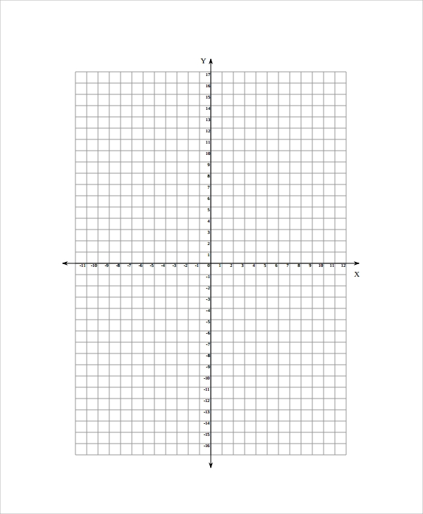Sample Graph Paper 25 Documents in PDF Word Excel PSD – Math Grid Paper Template