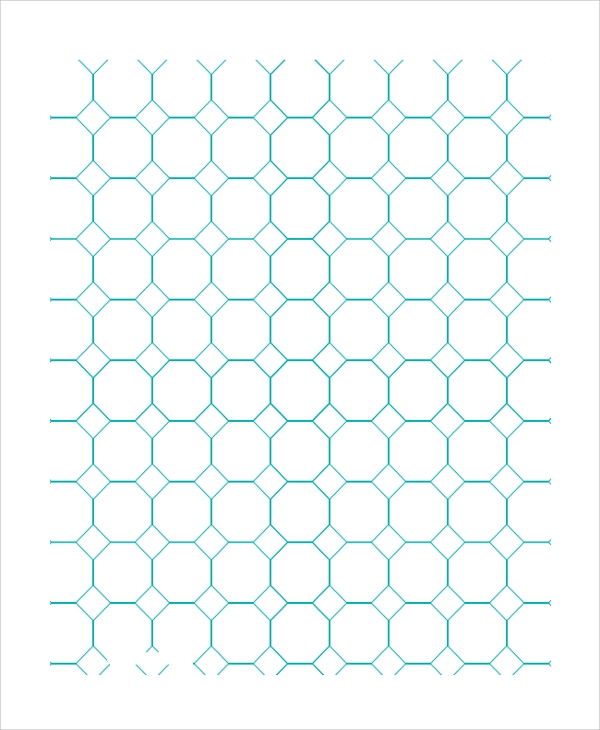 How To Draw An Octagon On Graph Paper Ehow Uk Octagon Graph Paper