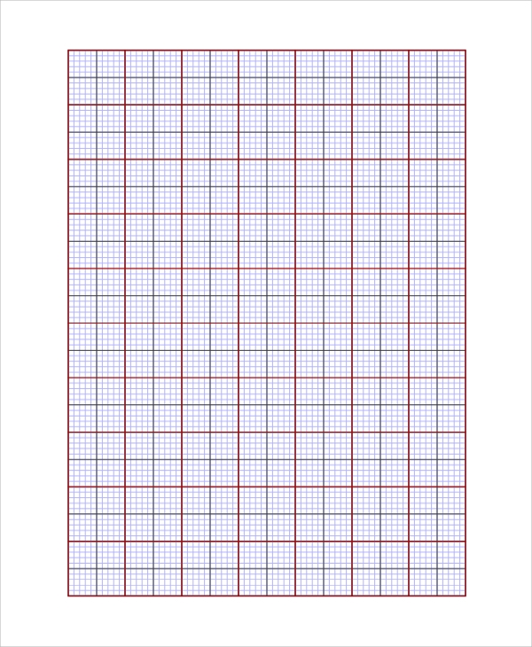 multi color graph paper