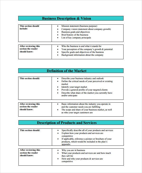 Sample Vision Statement For Business Plan Registered Forward