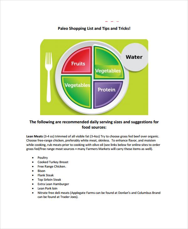 junk food grocery list