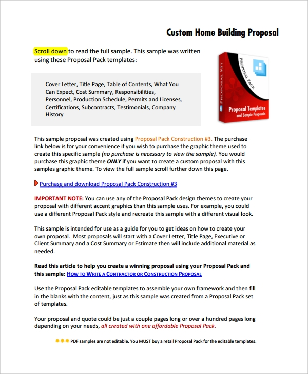 written estimate template 8 estimate proposal templates sample templates