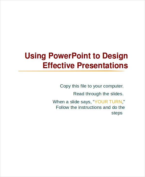 professional presentations powerpoint example
