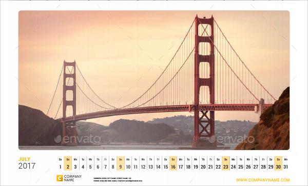editable wall calendar