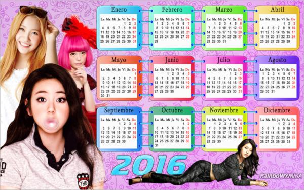 wonderful wall calendar