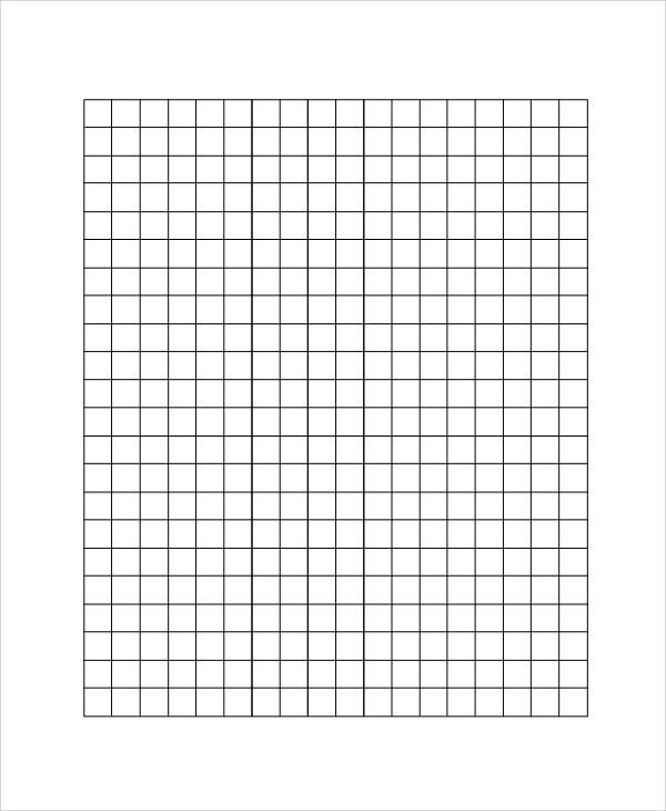 grid box lined paper