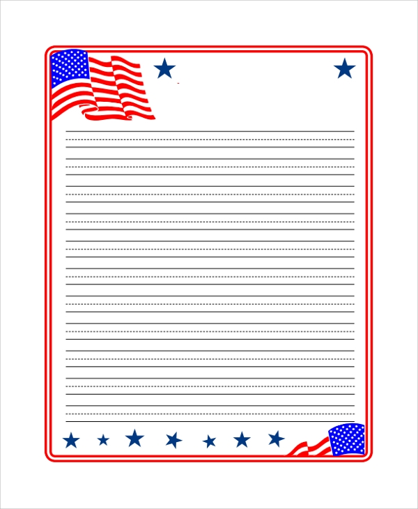 photograph regarding Red and Blue Lined Handwriting Paper Printable identified as Pattern Protected Paper - 19+ Data files within just PDF, Phrase