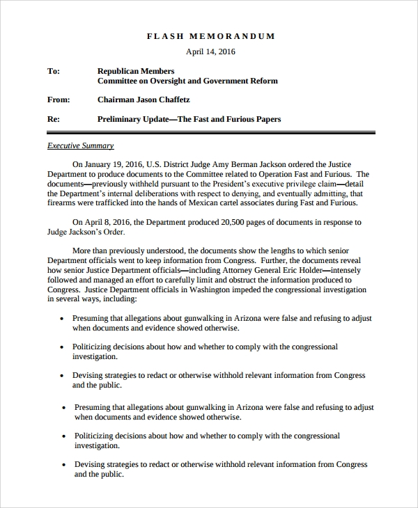 Sample Memo   Documents In Pdf Word