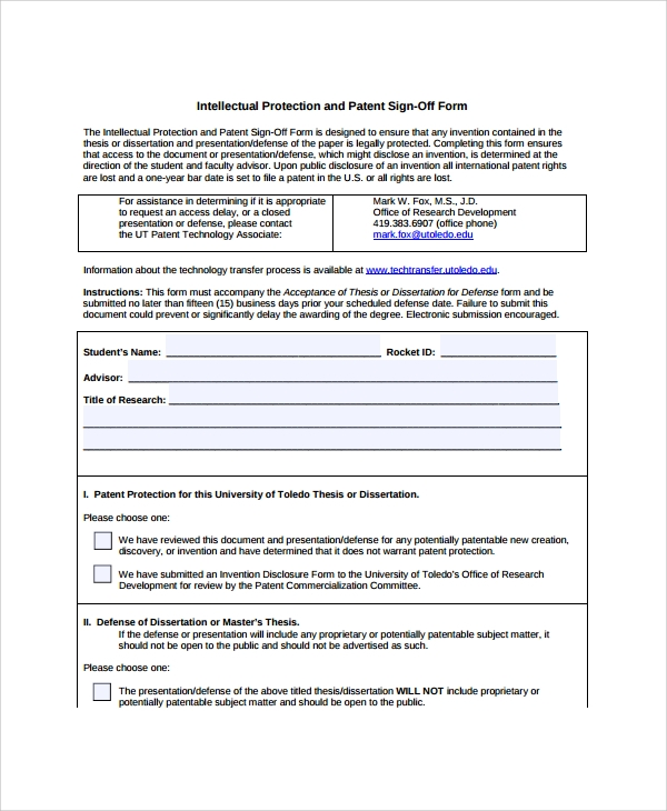 signed document template - 8 sample sign off form templates pdf sample templates