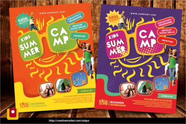 fantastic camp flyer