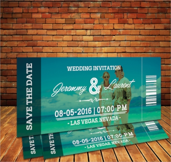 FREE 38+ Ticket Invitation Templates in PSD EPS AI