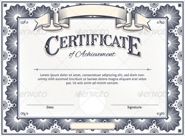 Sample Certificate   Documents In Word Pdf Psd