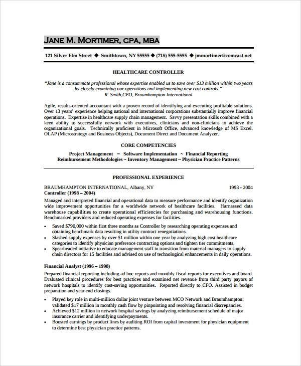Sample Resume   Documents In Pdf Word